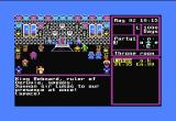 The Magic Candle: Volume 1 Commodore 64 After you set up your character, you are summoned before the king.