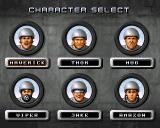 MAX Rally Amiga Character selection