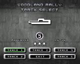 MAX Rally Amiga Track selection