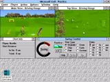 Microsoft Golf Windows 3.x Now watch my swing!