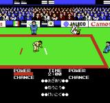 Moero!! Judo Warriors NES Poor opponent.