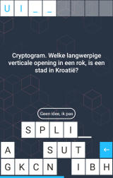 Blokken Android A cryptogram