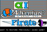 Scott Adams' Graphic Adventure #2: Pirate Adventure Apple II Splash screen