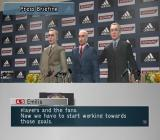 Pro Evolution Soccer: Management PlayStation 2 The player registration process ends with a press briefing when a new management team is in place