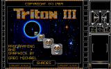 Triton III Atari ST Title screen