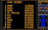 Triton III Atari ST High-score table. Guess who played!