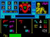 Shadowfire ZX Spectrum Inventory/objects, Zark Montor selected