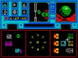 Shadowfire ZX Spectrum Battle screen, Maul selected