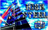 High Steel Amstrad CPC Title screen