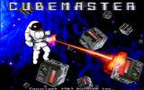CubeMaster Amiga Title screen