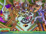 3-D Ultra Pinball: Thrillride Windows The main game screen.<br>