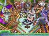 3-D Ultra Pinball: Thrillride Windows Most screenshots will look the same because all the action happens in one place.<br>This is a little different, the player raises the platform and scores points by hitting the base repeatedly