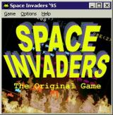 "Arcade 2 Collection Windows The Space Invaders game installs as ""Space Invaders '95"" but differs from the more common version in that it does not have the odd characters. It's more like ""Space Invaders DX'"