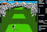 Famous Courses of the World: Vol. II Apple II Ready to go at the first hole of Pebble Beach