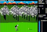 Famous Courses of the World: Vol. II Apple II Close to the hole, using the putter