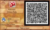 Pokémon Omega Ruby Nintendo 3DS By scanning in QR codes, you can visit other players' Secret Bases and battle AI-controlled versions of their Pokémon.