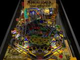 Pro Pinball: Big Race USA Windows The player can vary the view angle and the state of the table<br>This is the highest view angle and shows the start of the Alien Attack bonus on a 'neglected table'