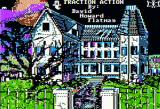 Fraction Action Apple II Title screen