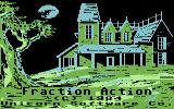 Fraction Action Commodore 64 Title screen