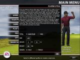Tiger Woods PGA Tour 2005 Windows New players are created via the Change Profile option on the main menu. Other players provided by the game are also accessed via this option