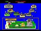 Arcade 2 Collection Windows Rainbow Islands.<br>One of the instruction screens before the game starts