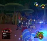 Kingdom Hearts PlayStation 2 Battle in the woods