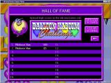Balloon Kaboom Challenge Windows The high score table<br>When the game was released scores could be uploaded to an on-line Hall of Fame. Sadly this website is no longer active