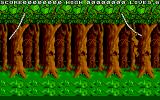 Jungle Boy Atari ST The liana is swinging and a button press releases it