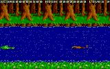 Jungle Boy Atari ST Level 2: avoid the crocodiles in the constantly scrolling level