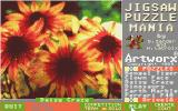 Jigsaw Puzzlemania Atari ST Choosing a flower picture