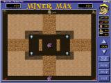 Miner Max Windows Level four has the game's first dynamite. Max needs it because the gems are inside a rock lined cave. Only the light rock can be destroyed this way
