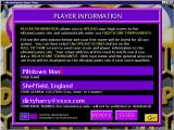 Spelling Bee Windows This screen is used to create and to confirm a players identity. Once created the identity is available to all games accessed via eBrainyGames' Super Menu