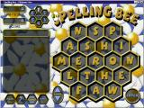 Spelling Bee Windows The game area<br>The game timer is represented by the bee crawling across the title. No more game screenshots as they would show the words used to solve the grid and that's classed as a spoiler.