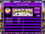 Spelling Bee Windows The high score table<br>When the game was released scores could be uploaded to an on-line Hall of Fame. Sadly this website is no longer active
