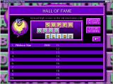 Super Word Slide Windows The high score table<br>When the game was released scores could be uploaded to an on-line Hall of Fame. Sadly this website is no longer active