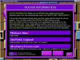 Word Wiz Windows This screen is used to create and to confirm a players identity. Once created the identity is available to all games accessed via eBrainyGames' Super Menu