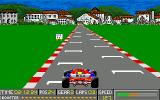 Grid Start Amiga Completing a lap