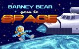 Barney Bear Goes to Space Amiga Title screen