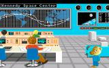 Barney Bear Goes to Space Amiga Barney goes to Kennedy Space Center