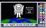 Barney Bear Goes to Space Amiga Barney in space