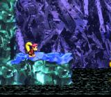Donkey Kong Country 2: Diddy's Kong Quest SNES Icy waters