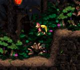 Donkey Kong Country 2: Diddy's Kong Quest SNES The wind plays important role in this stage