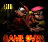 Donkey Kong Country 2: Diddy's Kong Quest SNES Game over