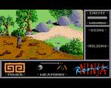 The Last Ninja Amiga Quagmires and rivers are the most dreadful things in the whole game that Arkamani needs to be very cautious with.