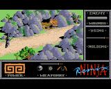 The Last Ninja Amiga And what do we have here? A dragon guarding the exit from the first level?