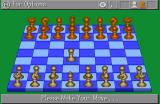 TeleGames CDTV Chess - making a move