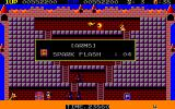 Knither: Demon Crystal II PC-88 Spark flash is the only weapon that can kill these Black Knights