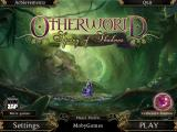 Otherworld: Spring of Shadows Windows Title and main menu