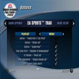 Tiger Woods PGA Tour 2003 PlayStation 2 The player can configure which songs they want to hear in-game and while the menu screen is displayed, or they can all be turned off