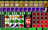 Fruit Machine Amiga Getting a win - can choose to gamble or collect